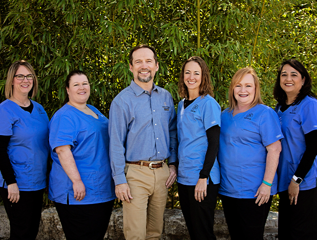 The Kerrville, Texas dental team at Carroll R. Butler, DDS Family Dentistry